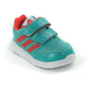 65ac6b8b1f Adidas Alta Run Cfi lány Sportcipő #türkiz-narancssárga 30792672 Adidas  Utcai - sport gyerekcipő