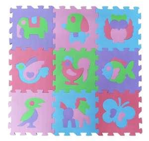 FreePlay Puzzle játszószőnyeg - Állatok 30724165 Szivacs puzzle