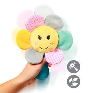 BabyOno plüss Csörgő Rainbow flower - Virág 30753864 Rágóka, csörgő