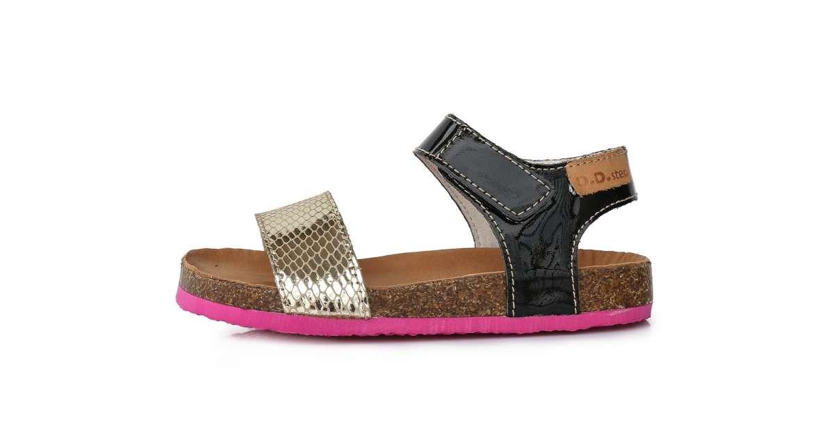 jól néz ki cipő eladó felvenni olcsón D.D.Step lány Szandál #arany-fekete 31-36 | Pepita.hu