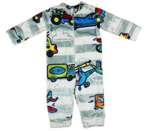 Wellsoft fiú overálos Pizsama - Járművek #kék-szürke 30756843 Gyerek pizsama, hálóing