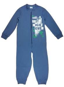 Fiú overálos Pizsama #kék 30756846 Gyerek pizsama, hálóing