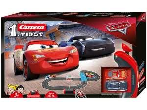 Carrera First Verdák 3 Elemes Versenypálya 1:50 31023732 Autópálya, parkolóház