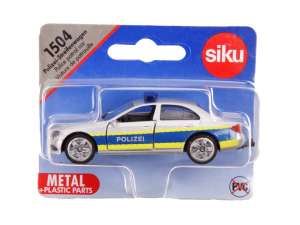 SIKU 1504 Mercedes-Benz rendőrautó Modell 1:87 #fehér 31032067 Modell, makett