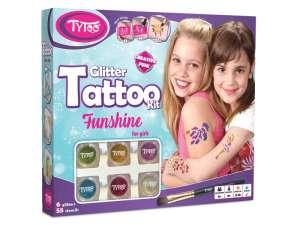 Funshine csillámtetoválás készlet 31024269 Tetoválás