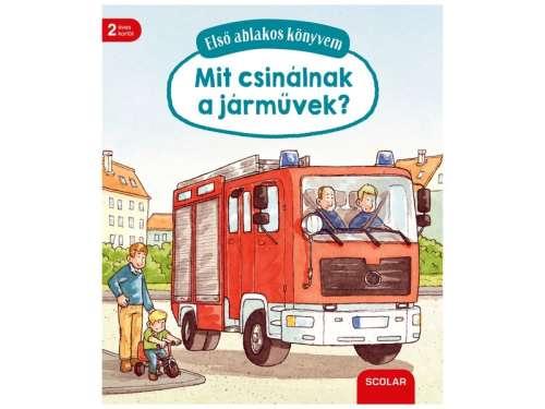 Mit csinálnak a járművek ablakos könyv