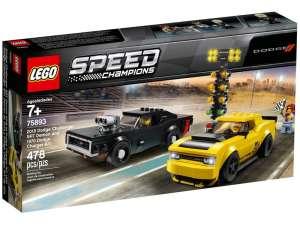 LEGO® Speed Champions 2018 és 1970 Dodge 75893 31033241 LEGO Speed Champions