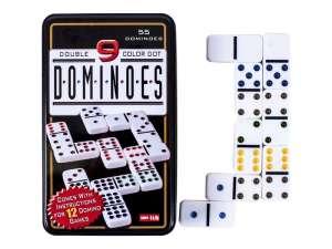 Dominó készlet fémdobozban 31028384 Dominó, sakk