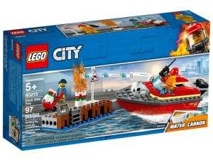 LEGO® City Tűz a dokknál 60213 31037221 LEGO City