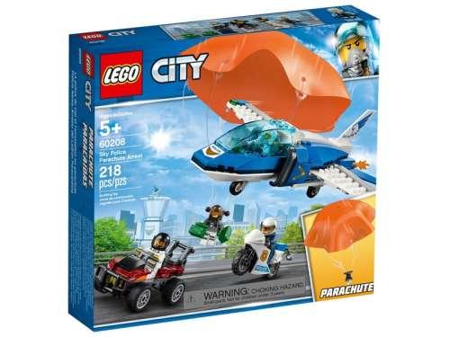 LEGO® City Légi rendőrségi ejtőernyős 60208