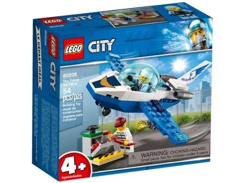 LEGO® City Rendőrségi járőröző repülőgép 60206