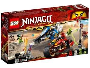 LEGO® Ninjago Kai motorja és Zane szánja 70667 31026196