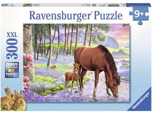 Ravensburger XXL gyerek Puzzle 300db - Lovak a naplementében
