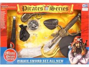Kalóz készlet pisztollyal és szablyával 31036277 Játékpuska, töltény