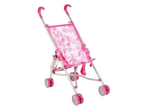 Játék sport babakocsi - Virág #rózsaszín