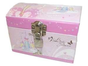 Hercegnő ékszerdoboz lakattal 31040742 Zenélő doboz
