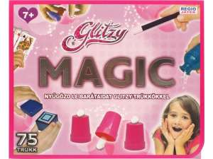 Glitzy Magic bűvészdoboz lányoknak - 75 trükkel 31025783 Szerepjátékok