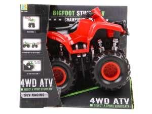 Bigfoot Stunt Atv Motor - 13cm #piros-kék 31025820 Autós játékok, autó, jármű