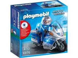 Playmobil Rendőrmotor villogóval 6923 31026210 Playmobil City