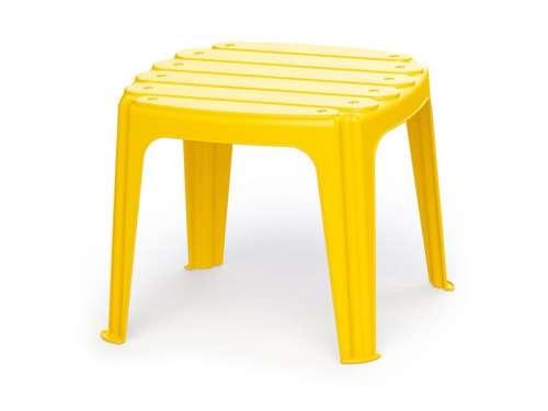 Kerti asztal - sárga, 37 x 37 x 31 cm 31035150 Kerti bútor gyerekeknek