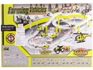 Farm Autó 53 Darabos Készlet Kiegészítőkkel 31027424 Autópálya, parkolóház