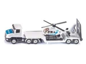 Siku: Vontató Kamion és Helikopter 1:55 31028329 Modell, makett