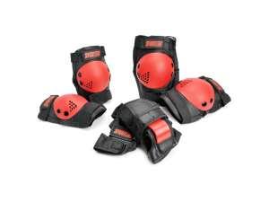 Sport Védőfelszerelés fiúknak #fekete-piros 31031321 Biciklis védőfelszerelés, kiegészítő