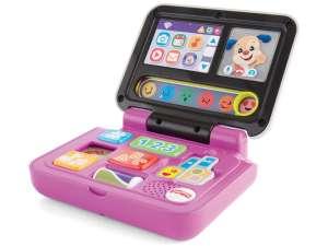 Fisher Price tanuló laptop Játék #rózsaszín 31024886 Fejlesztő játék babáknak