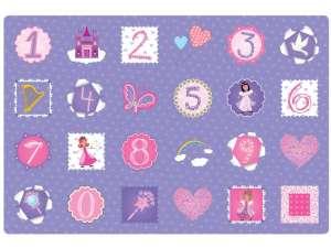 Számok 24 darabos szőnyeg puzzle 31023257 Szivacs puzzle