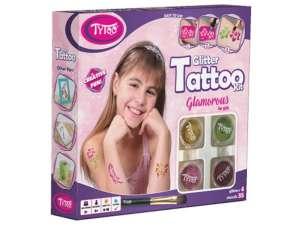 Glamorous csillámtetoválás készlet 31028528 Tetoválás