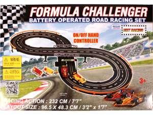 Formula Challenger Elektromos Autópálya 232cm 31029231 Autópálya, parkolóház