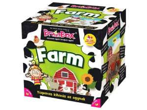 Green Board Game BrainBox - Farm Társasjáték 31042089 Green Board Games Társasjáték