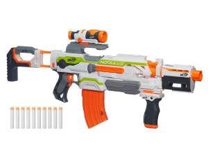 NERF Modulus ECS-10 szivacslövő fegyver 31039229 Játékpuska, töltény