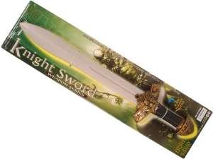 Világító lovagi kard 31026462 Játékkard, pajzs, sisak