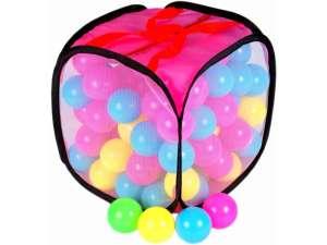 Minilabdák zsákban - 5 cm 31165819 Műanyag labda szett