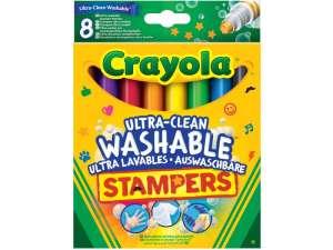 Crayola: extra 8 darabos kimosható nyomdafilc 31131366 Nyomda