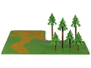 Siku World erdő kiegészítő készlet - 5699 31032769 Vonat, vasúti elem, autópálya