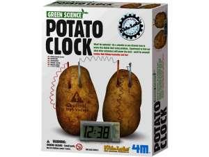 4M krumpli óra készlet 31031162 Tudományos és felfedező játék