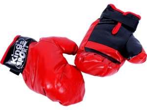 Box készlet #fekete-piros 31033695 Boxzsák és box kesztyű