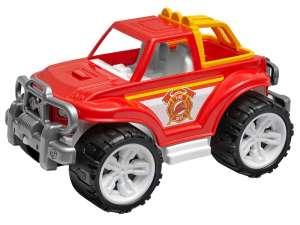 Tűzoltó terepjáró Autó - 35cm #piros 31024161 Autós játékok, autó, jármű