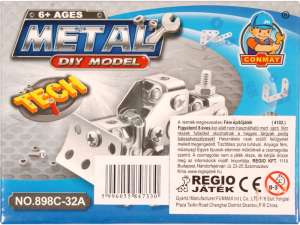Fém mini építőjáték - Munkagép 31035733 Fém építőjáték