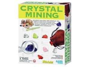 4M kristály bányász készlet 31040981 Tudományos és felfedező játék