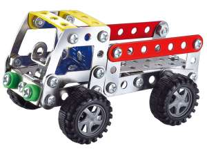 Teherautó 112 darabos fém építőjáték 31040811 Fém építőjáték