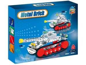 Tank 198 darabos fém építőjáték 31027857 Fém építőjáték