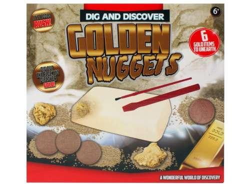 Régész játék - aranyrögök