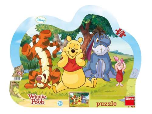 Gyerek Puzzle 25db - Micimackó és barátai