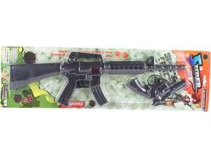 Super Gun géppuska és pisztoly készlet 31032072 Játékpuska, töltény