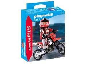 Playmobil Motocross-versenyző 9357 31037897 Playmobil Special Plus