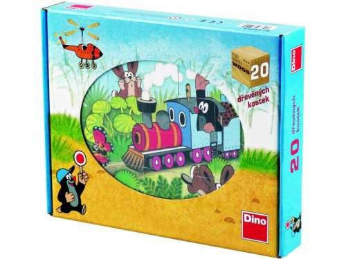 Gyerek Puzzle 20db - Kisvakond