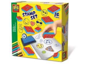 Emoji nyomda 36 darabos készlet 31030841 Nyomda